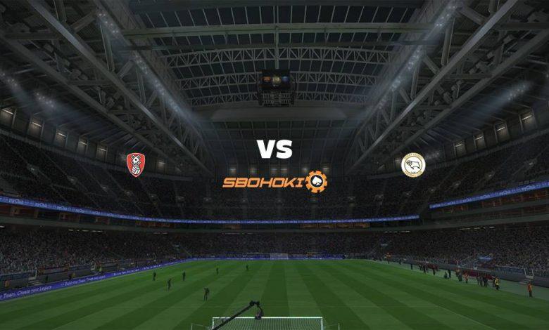 Live Streaming  Rotherham United vs Derby County 3 Februari 2021 1