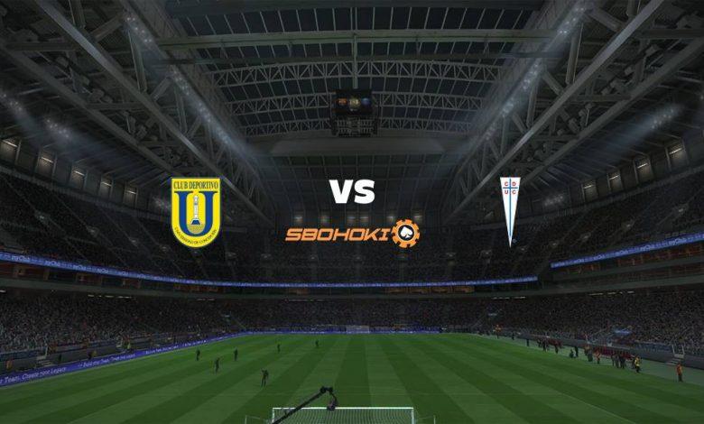 Live Streaming  Universidad de Concepción vs Universidad Católica 14 Februari 2021 1
