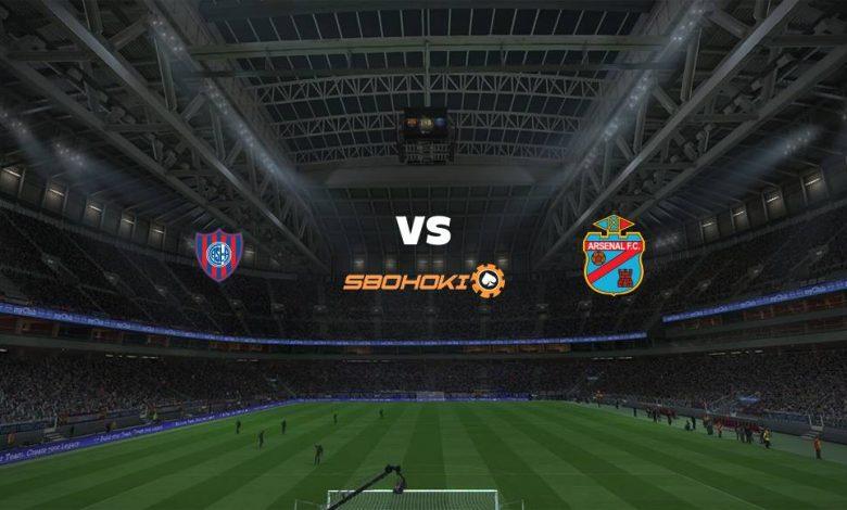 Live Streaming  San Lorenzo vs Arsenal de Sarandí 14 Februari 2021 1