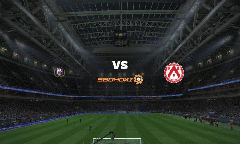 Live Streaming  Anderlecht vs KV Kortrijk 21 Februari 2021 1