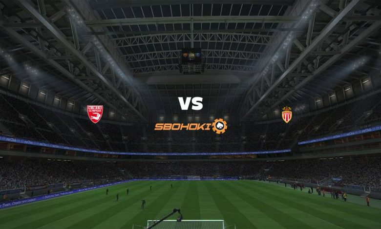 Live Streaming  Nimes vs AS Monaco 7 Februari 2021 1