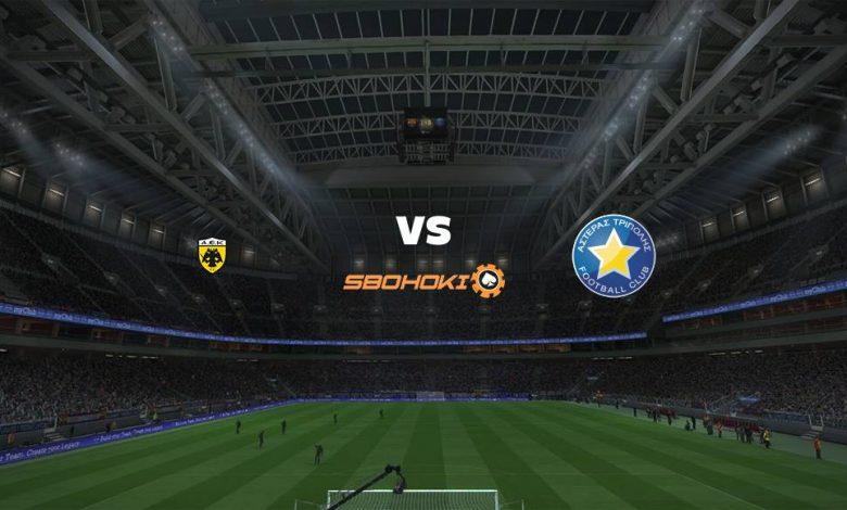 Live Streaming  AEK Athens vs Asteras Tripoli 20 Februari 2021 1