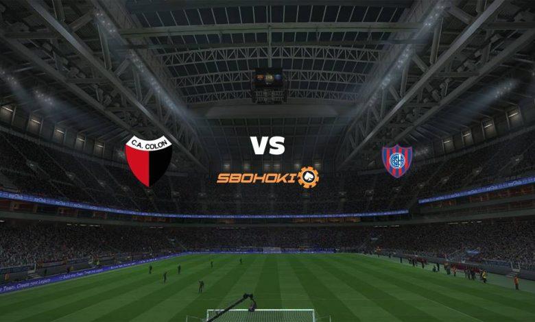 Live Streaming  Colón (Santa Fe) vs San Lorenzo 23 Februari 2021 1