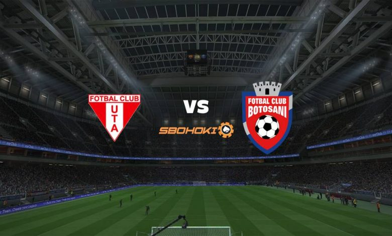 Live Streaming  UTA Arad vs FC Botosani 22 Februari 2021 1