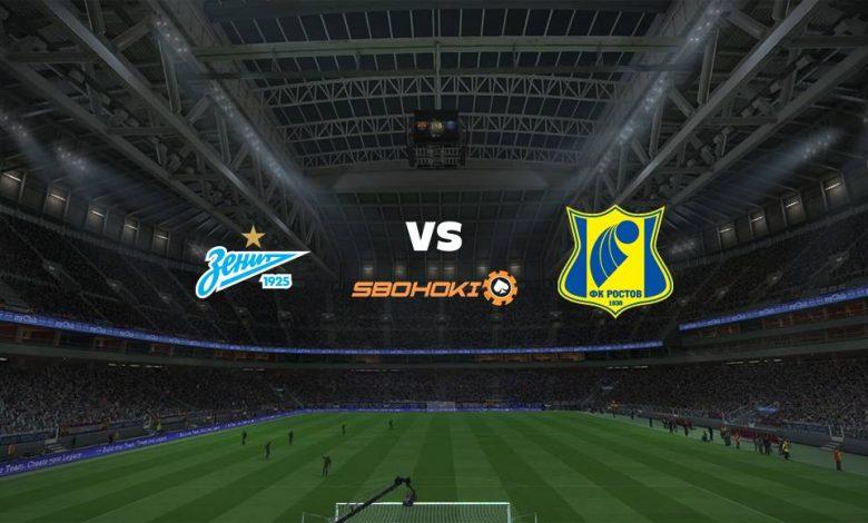 Live Streaming  Zenit St Petersburg vs Rostov 27 Februari 2021 1