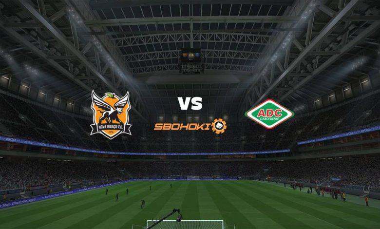 Live Streaming  Nova Iguaçu vs Cabofriense 20 Februari 2021 1