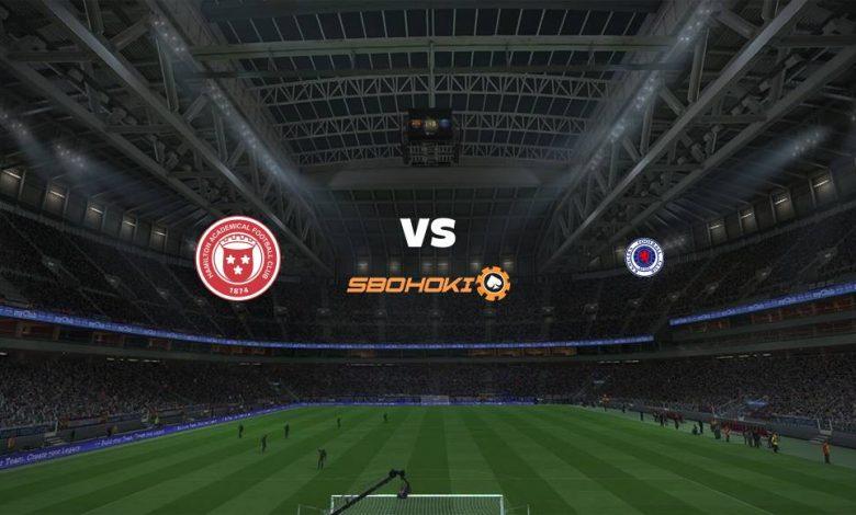 Live Streaming  Hamilton Academical vs Rangers 7 Februari 2021 1