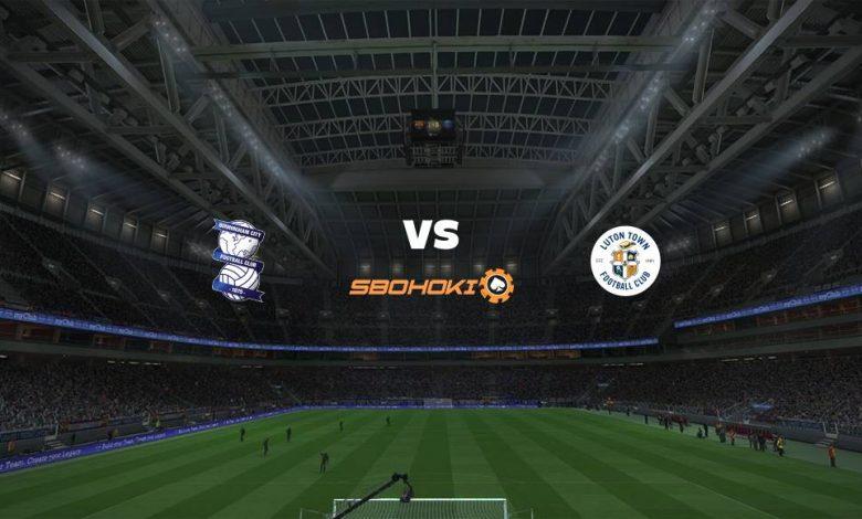 Live Streaming  Birmingham City vs Luton Town 13 Februari 2021 1