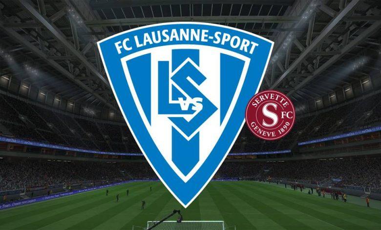 Live Streaming  Lausanne Sports vs Servette 13 Februari 2021 1