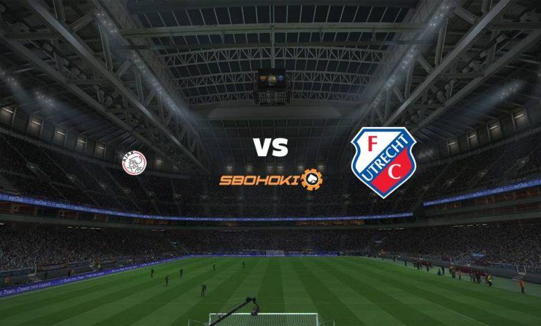 Live Streaming  Ajax Amsterdam vs FC Utrecht 7 Februari 2021 1