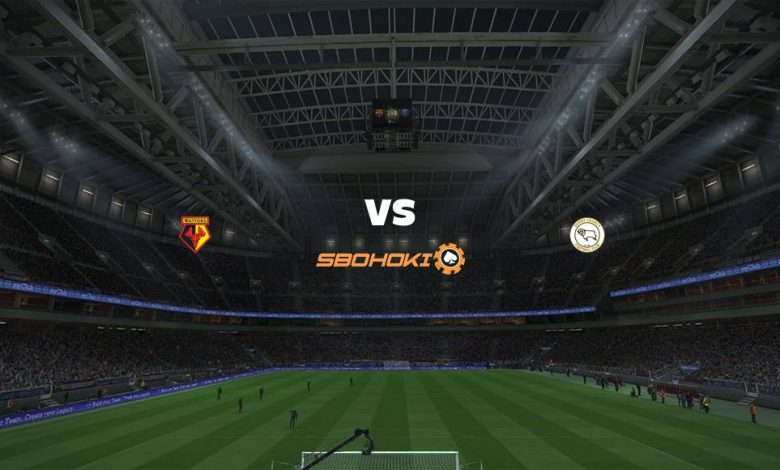 Live Streaming  Watford vs Derby County 19 Februari 2021 1