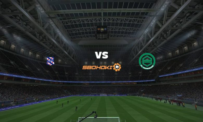 Live Streaming  Heerenveen vs FC Groningen 21 Februari 2021 1
