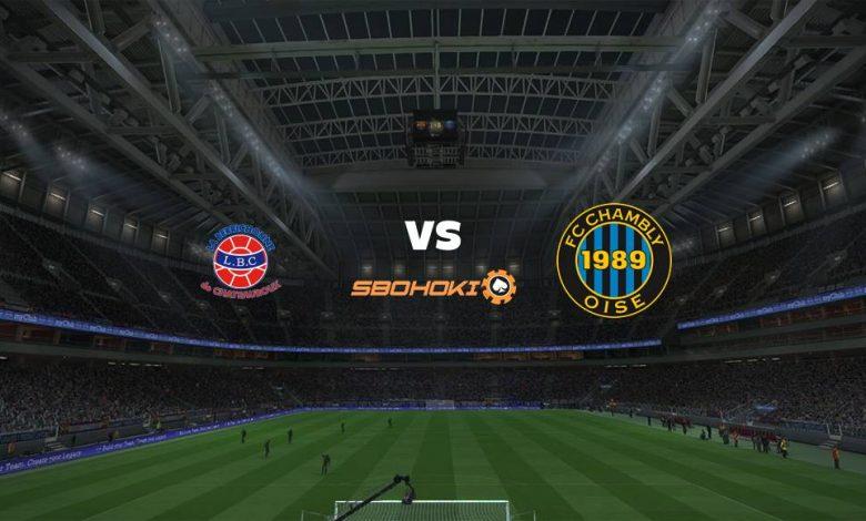 Live Streaming  Chateauroux vs FC Chambly 2 Februari 2021 1