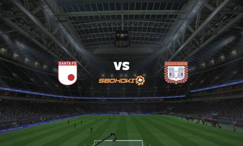 Live Streaming  Independiente Santa Fe vs Boyacá Chicó 24 Februari 2021 1