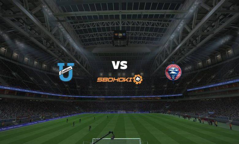 Live Streaming  Universidad Católica (Quito) vs Olmedo 19 Februari 2021 1