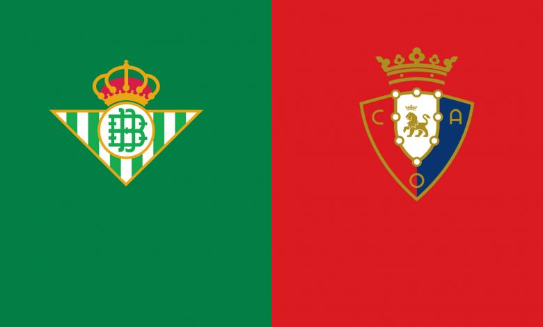 Prediksi La Liga Santander Real Betis vs Osasuna 2 Februari 2021 1