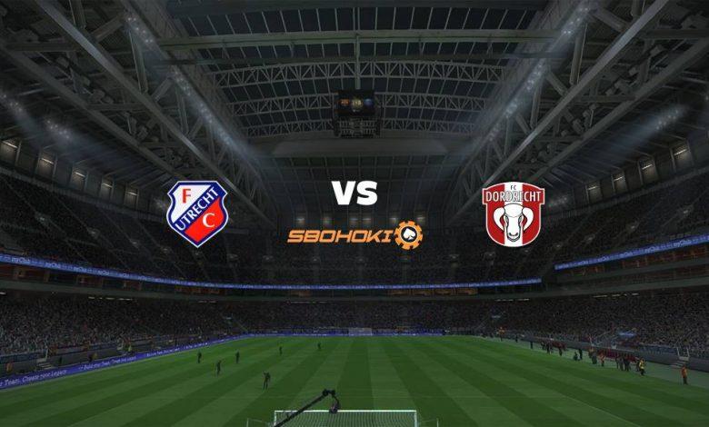 Live Streaming  Jong FC Utrecht vs FC Dordrecht 2 Maret 2021 1