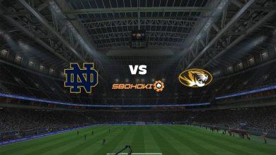 Photo of Live Streaming  Notre Dame Fighting Irish vs Missouri Tigers 13 Maret 2021