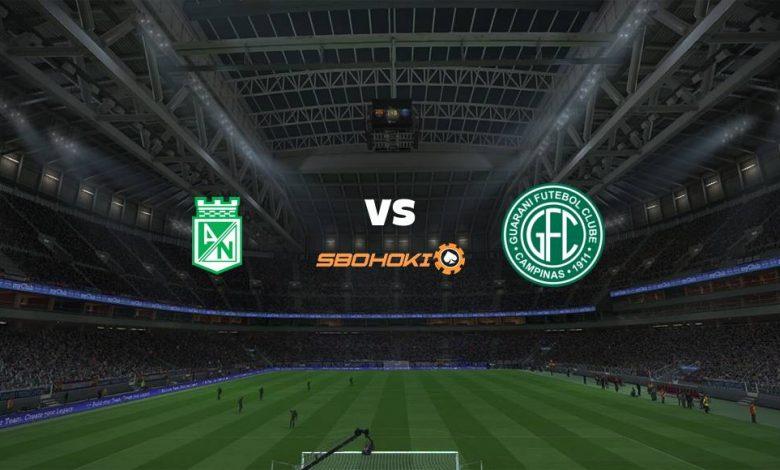 Live Streaming  Atlético Nacional vs Guaraní 19 Maret 2021 1