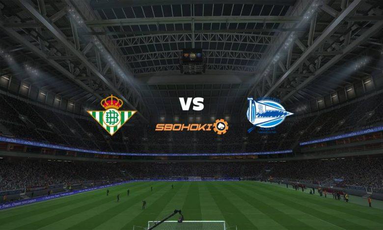 Live Streaming  Real Betis vs Alavés 8 Maret 2021 1