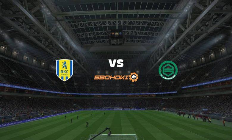 Live Streaming  RKC Waalwijk vs FC Groningen 20 Maret 2021 1