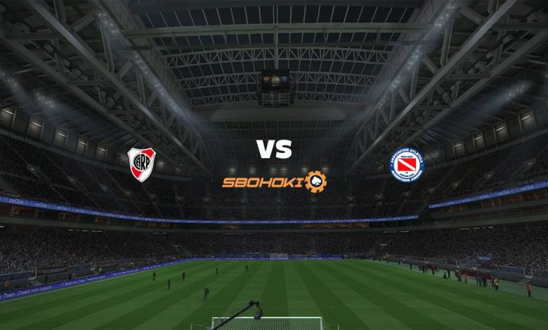 Live Streaming  River Plate vs Argentinos Juniors 9 Maret 2021 1