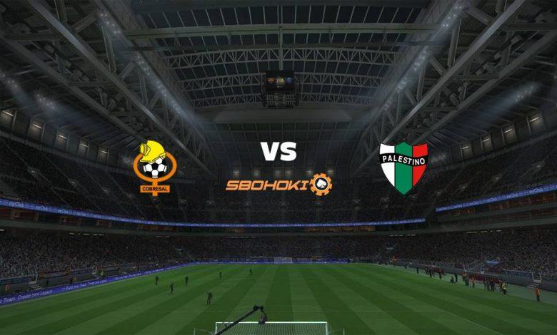 Live Streaming  Cobresal vs Palestino 19 Maret 2021 1