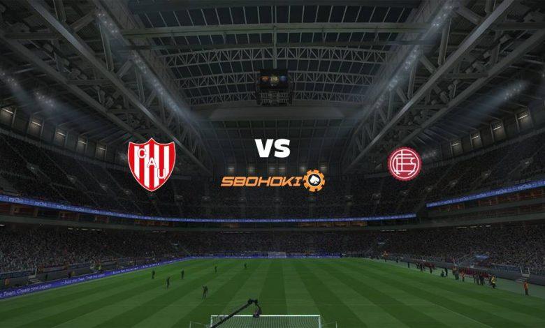 Live Streaming  Unión (Santa Fe) vs Lanús 1 Maret 2021 1