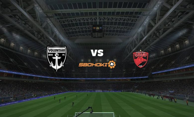 Live Streaming  Voluntari vs Dinamo Bucuresti 8 Maret 2021 1