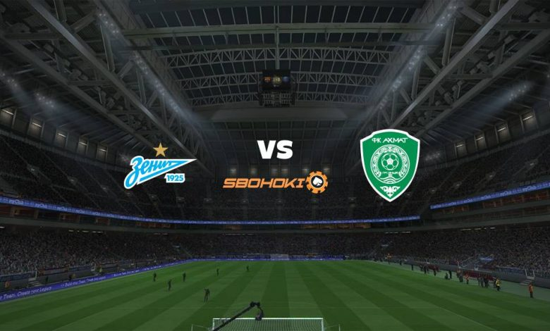 Live Streaming  Zenit St Petersburg vs Akhmat Grozny 13 Maret 2021 1
