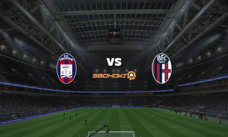 Live Streaming  Crotone vs Bologna 20 Maret 2021 1