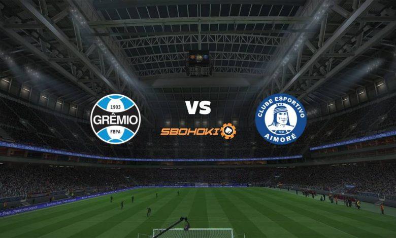 Live Streaming  Grêmio vs Aimoré 19 Maret 2021 1