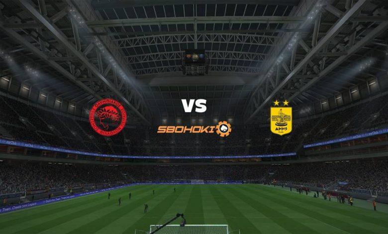 Live Streaming  Olympiakos vs Aris 21 Maret 2021 1