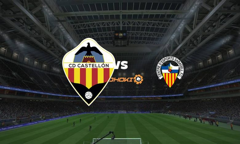Live Streaming  Castellón vs CD Sabadell 13 Maret 2021 1