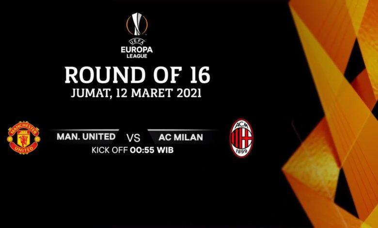 Live Streaming Manchester United vs AC Milan: Pertaruhan Nama Besar 1