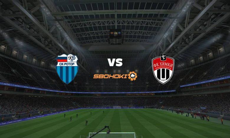 Live Streaming  FC Rotor Volgograd vs FC Khimki 6 Maret 2021 1