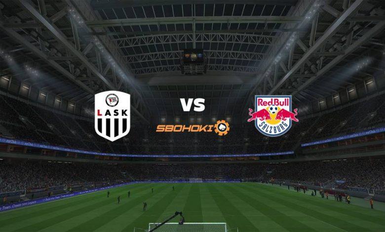 Live Streaming  LASK Linz vs FC Salzburg 20 Maret 2021 1