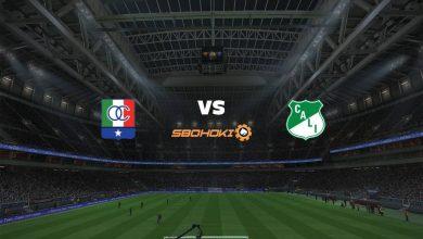 Photo of Live Streaming  Once Caldas vs Deportivo Cali 6 Maret 2021