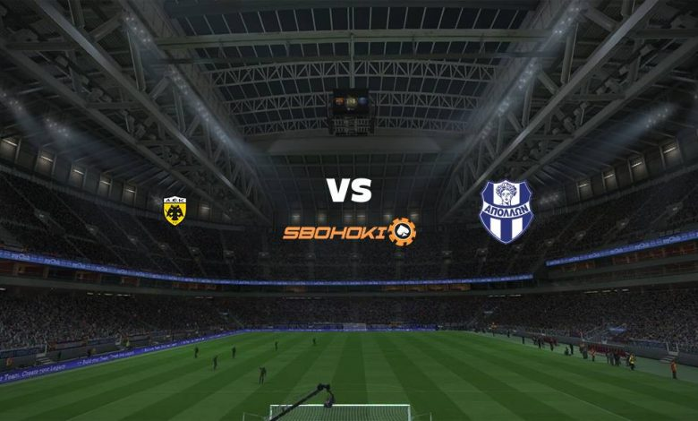 Live Streaming  AEK Athens vs Apollon Smyrni 8 Maret 2021 1