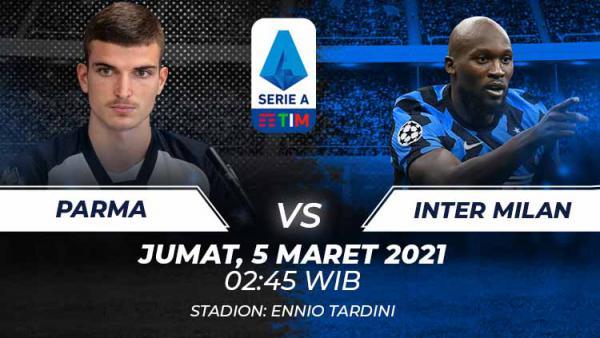 Nonton Live Streaming Parma vs Inter Milan Hari Ini 1