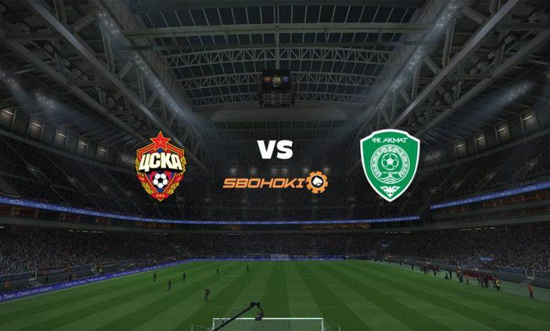 Live Streaming  CSKA Moscow vs Akhmat Grozny 8 Maret 2021 1