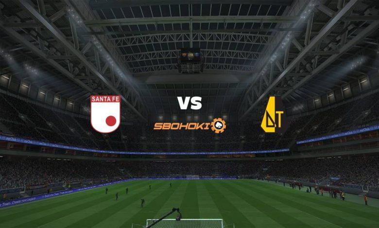 Live Streaming  Independiente Santa Fe vs Deportes Tolima 5 Maret 2021 1