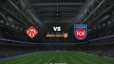 Photo of Live Streaming  Würzburger Kickers vs 1. FC Heidenheim 5 Maret 2021