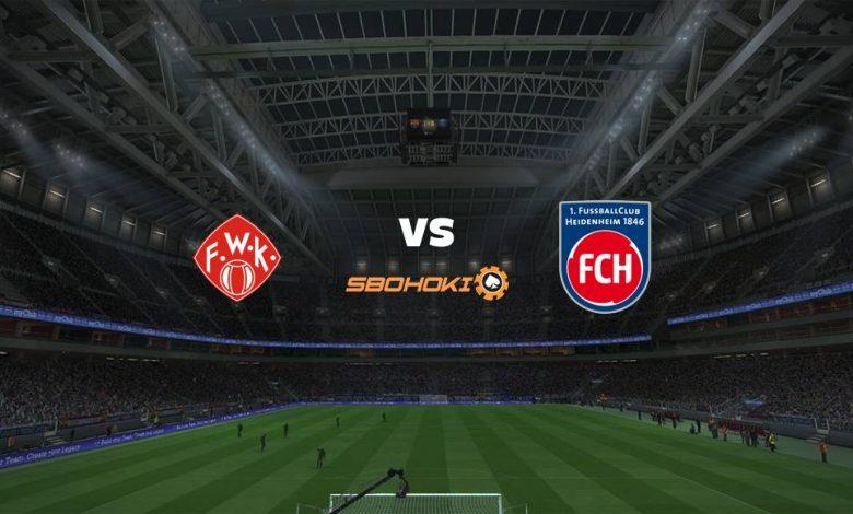 Live Streaming  Würzburger Kickers vs 1. FC Heidenheim 5 Maret 2021 1