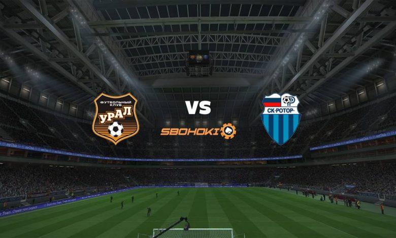 Live Streaming  FC Ural Ekaterinburg vs FC Rotor Volgograd 13 Maret 2021 1