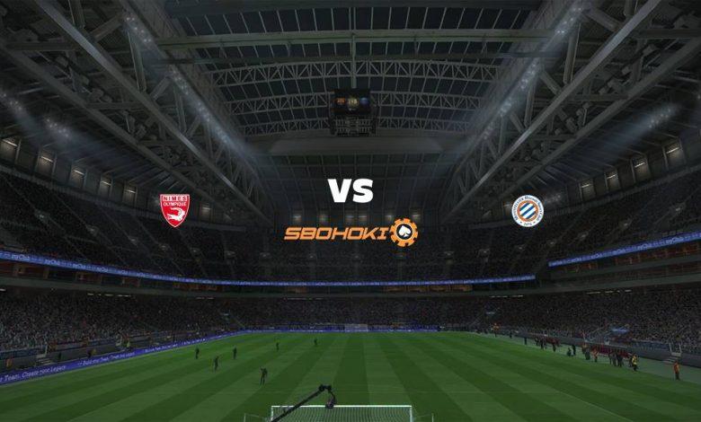 Live Streaming  Nimes vs Montpellier 14 Maret 2021 1