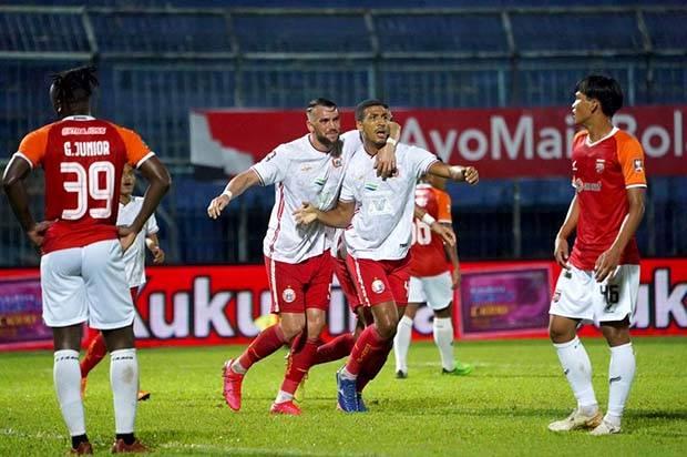 Piala Menpora 2021: Persija Pesta Gol Saat Hadapi Borneo FC 1