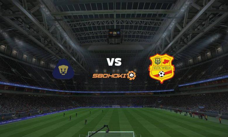 Live Streaming  Pumas Tabasco vs Atlético Morelia 4 Maret 2021 1