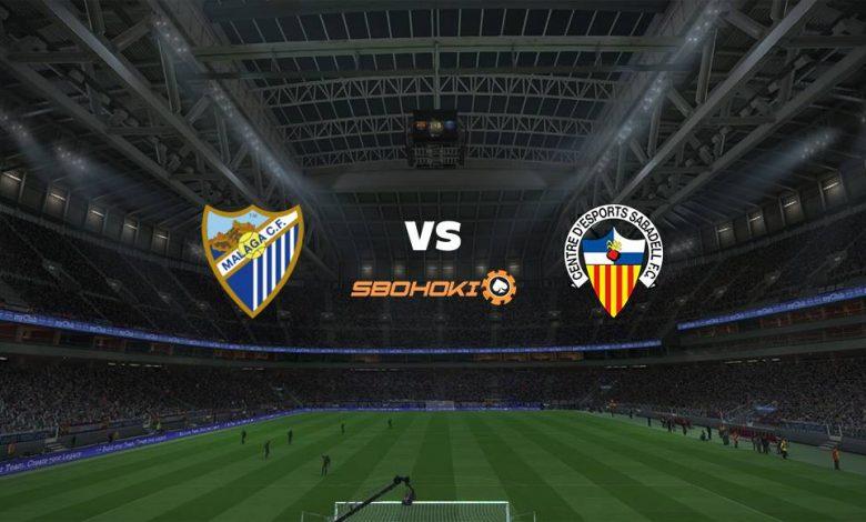 Live Streaming  Málaga vs CD Sabadell 7 Maret 2021 1