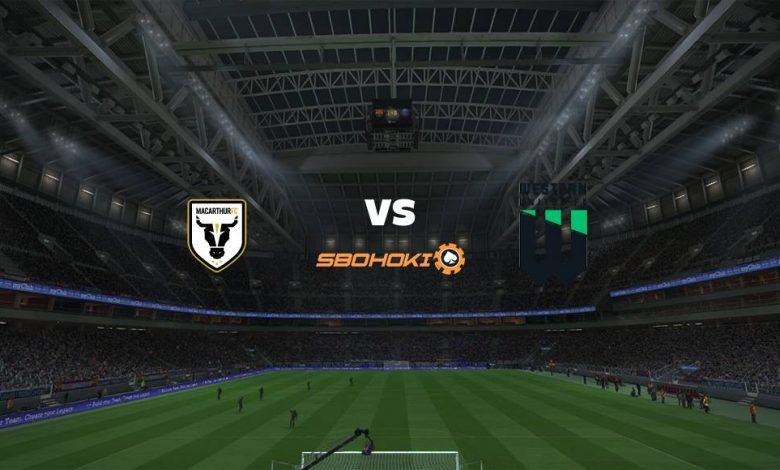 Live Streaming  Macarthur FC vs Western United 20 Maret 2021 1